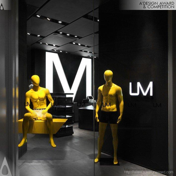 Um (Men's Underwear Store Design)