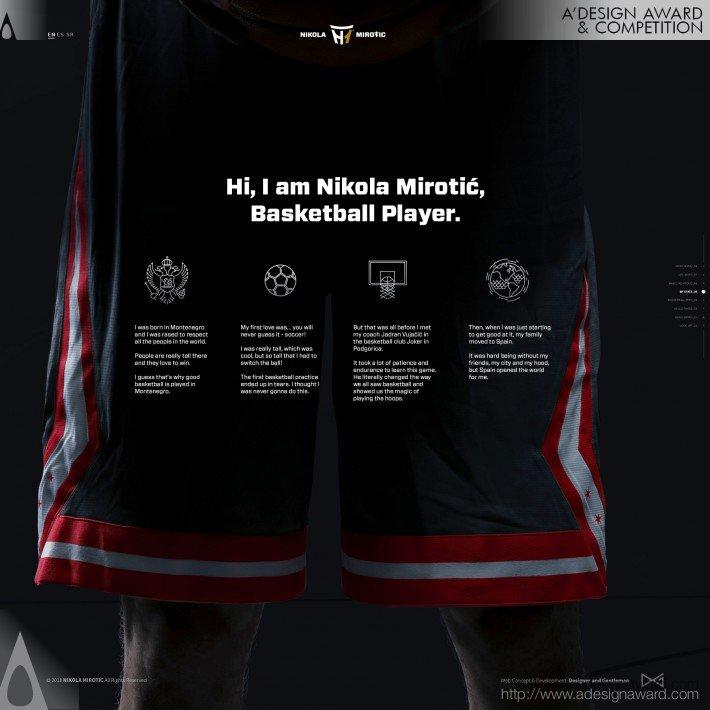 Nikola Mirotic (Personal Branding Design)