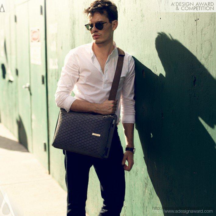 Sterling Bag-The Epitome of Versatilit (3in1 Backpack, Briefcase & Shoulder Bag Design)