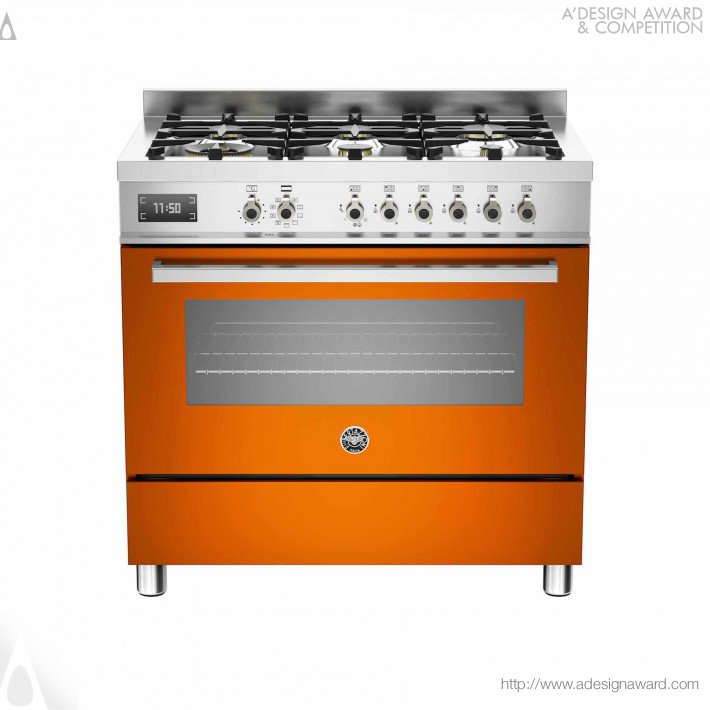 Pro90 6 Mfe S Ar Arancio (Freestanding Cooker Design)