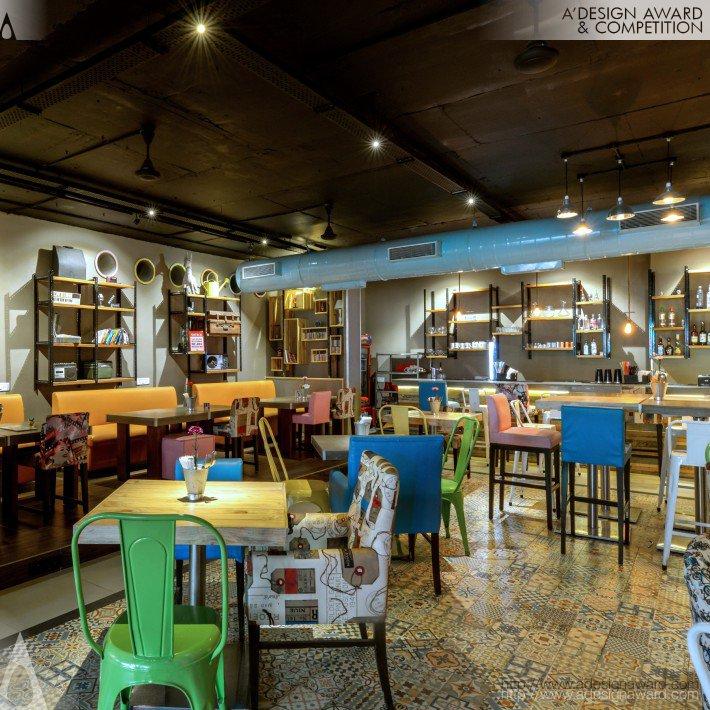 Adda (Multifunctional Cafe Design)