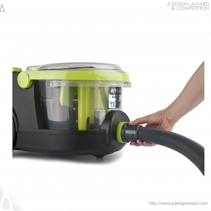 Arnica Bora (Vacuum Cleaner With Water Filter Design)
