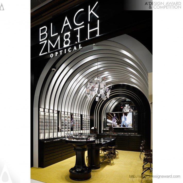 Blackzmith (Eyewear Shop Design)