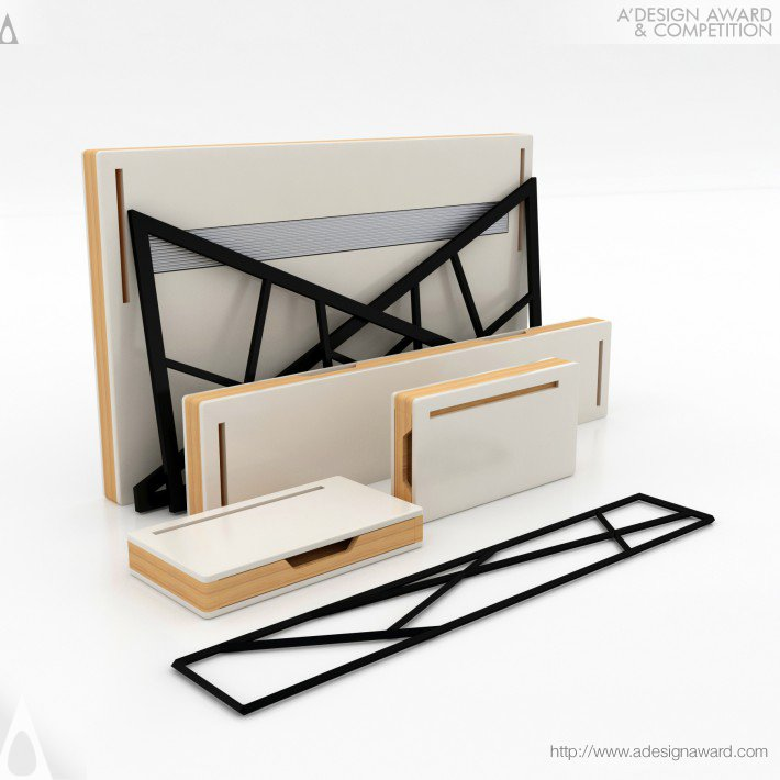 Office Desk by Mehmet Lutfi Hidayetoglu