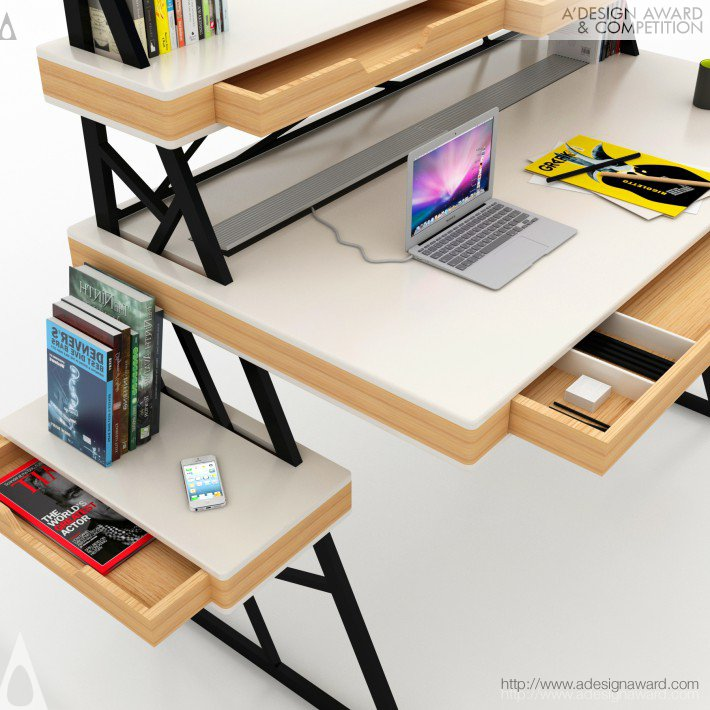 Mehmet Lutfi Hidayetoglu Office Desk