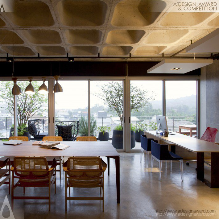 Pippi's Office (Architecture Office Design)