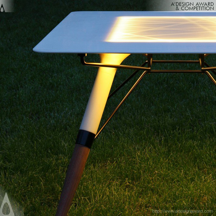 Table T (Outdoor or Indoor Table Design)