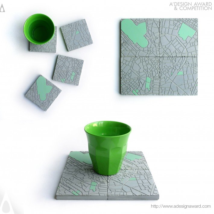 The Concrete Cities (Coasters Design)