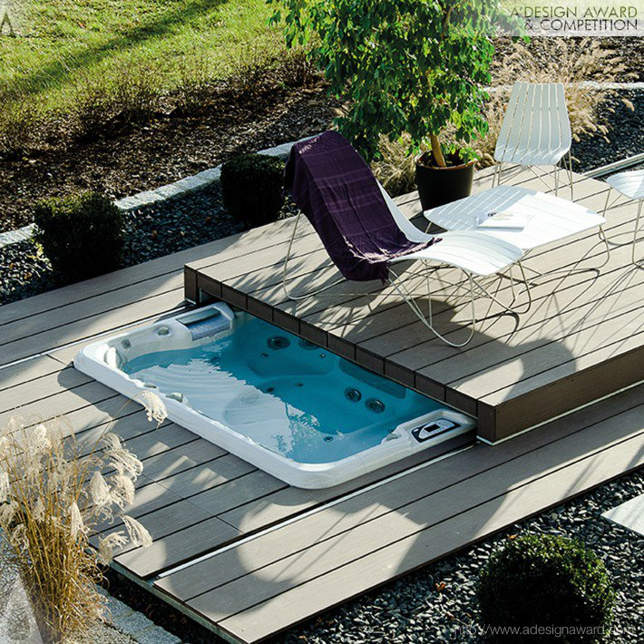 Pool Lounge® (Cover For Hot Tubs, Swim Spas and Pools Design)