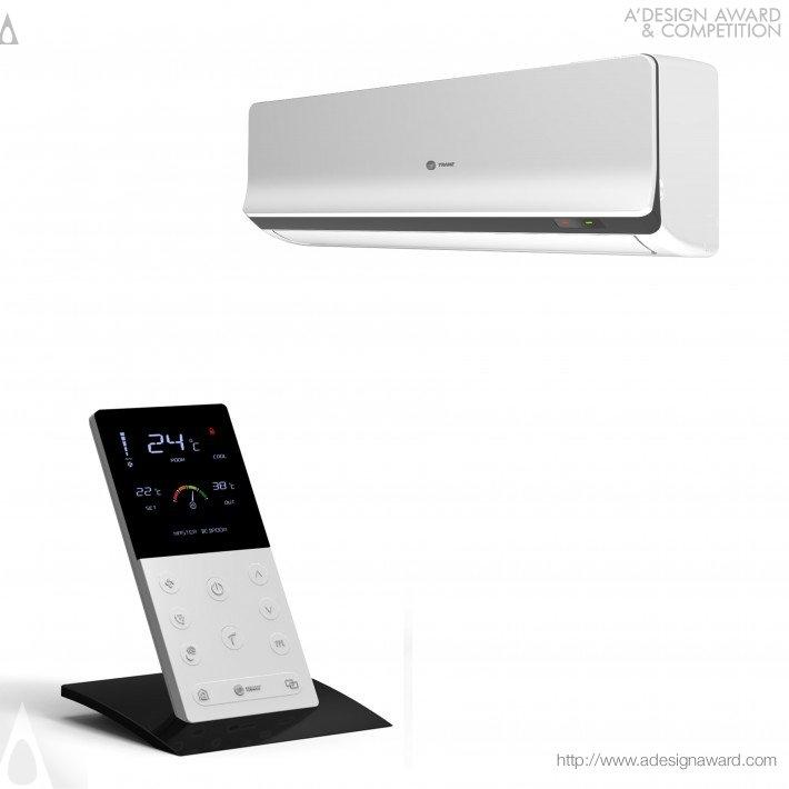Interactive Split Air Conditioner (Home Air Conditioning Design)