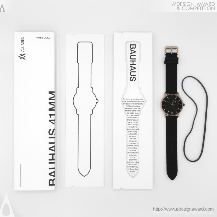All Mies Watch Packaging by Walmir Luz