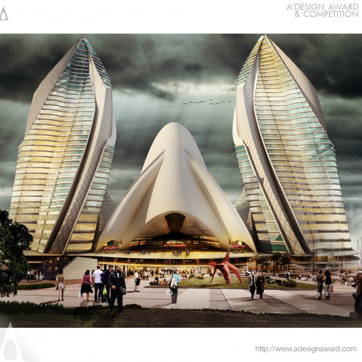 Lilium Center (Mixed-use, Commercial and Residential De Design)