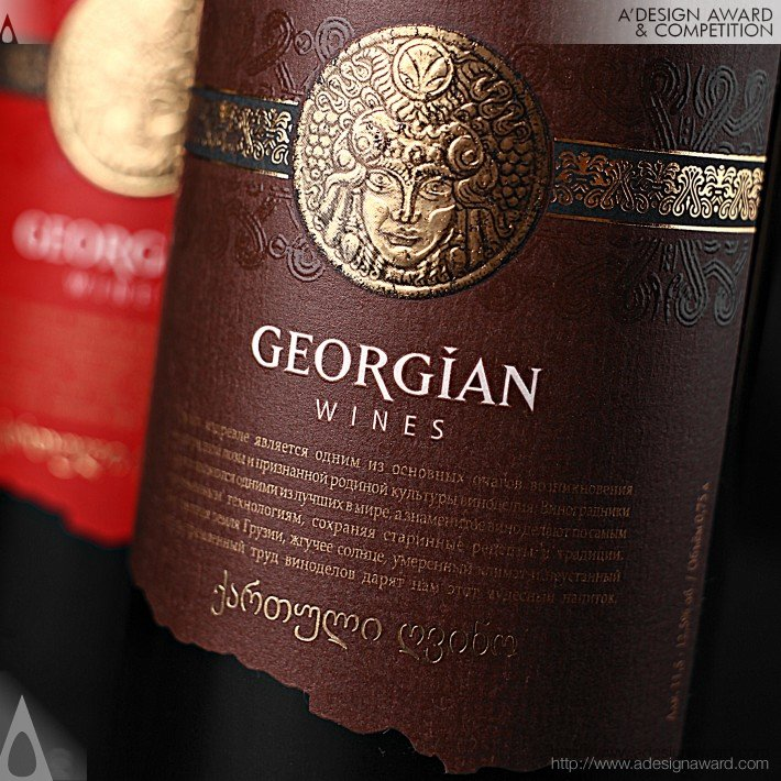 Series of Georgian Wines by Valerii Sumilov