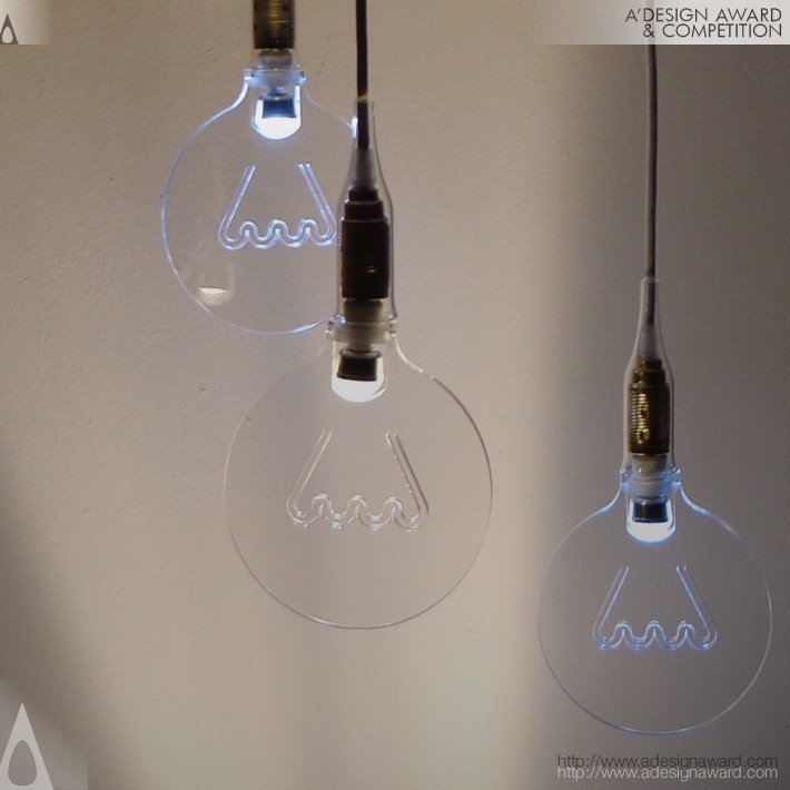 The Light in The Bubble (Lamp Design)