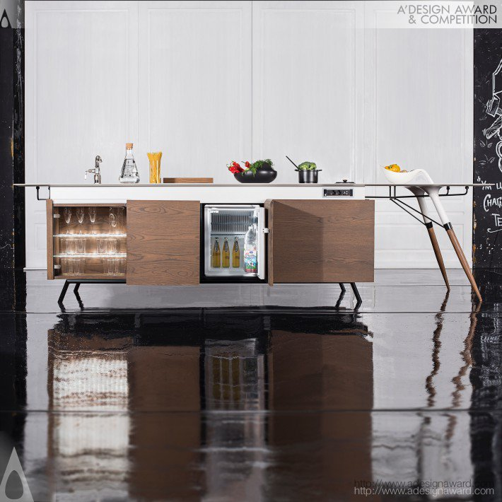 Kitch T (Compact Kitchen Design)