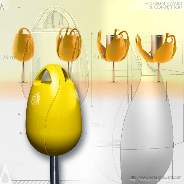 Tulpi-Bin (Waste Bin Design)