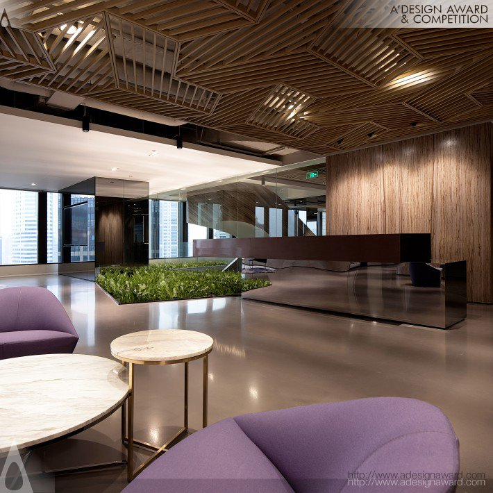 International Management Consultant Working Space by Carlos G Galan