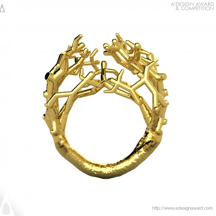 Fighting For What Tree ! (Gold Ring Design)