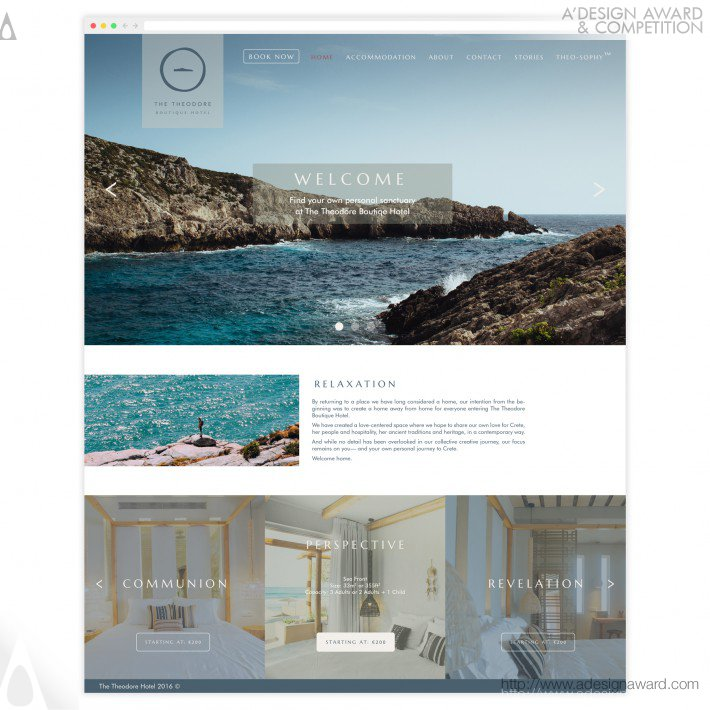 The Theodore (Website Design)