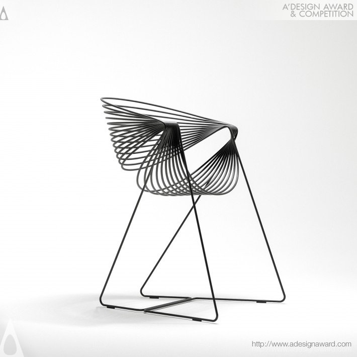 Filoferru Outdoor Chair by Robby Cantarutti