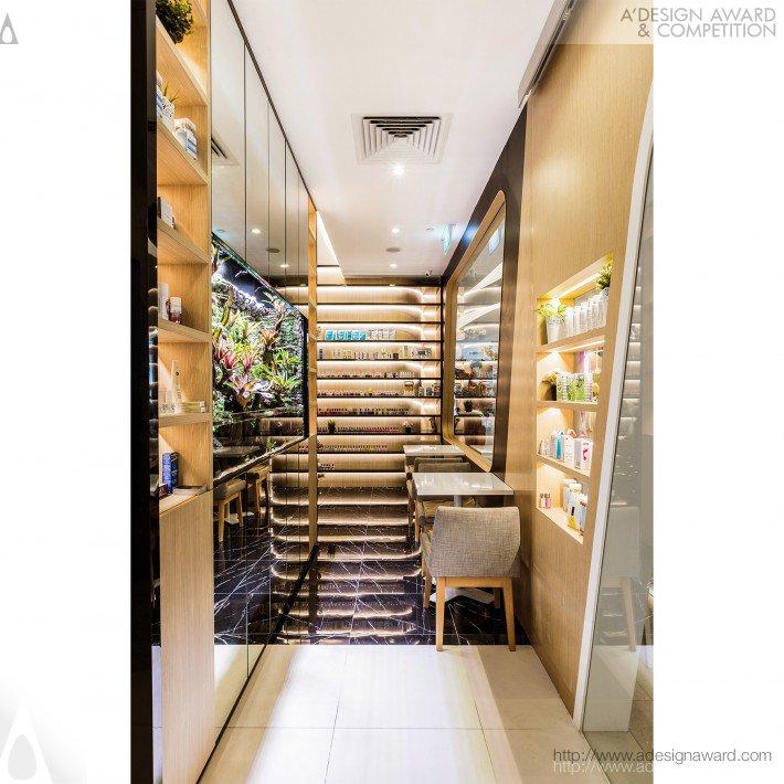 Nail Spa (Retail Interior Design Design)
