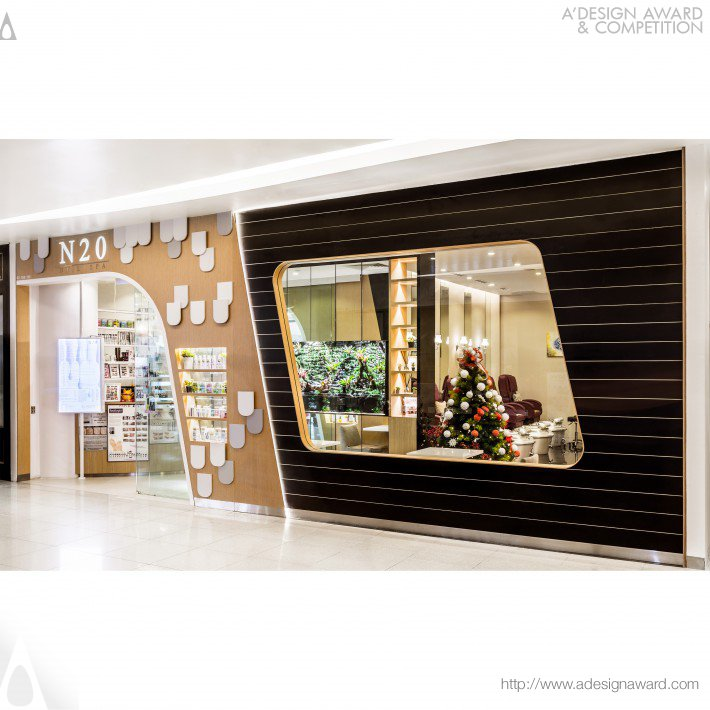 A Design Award And Competition Nail Spa Retail Interior Design