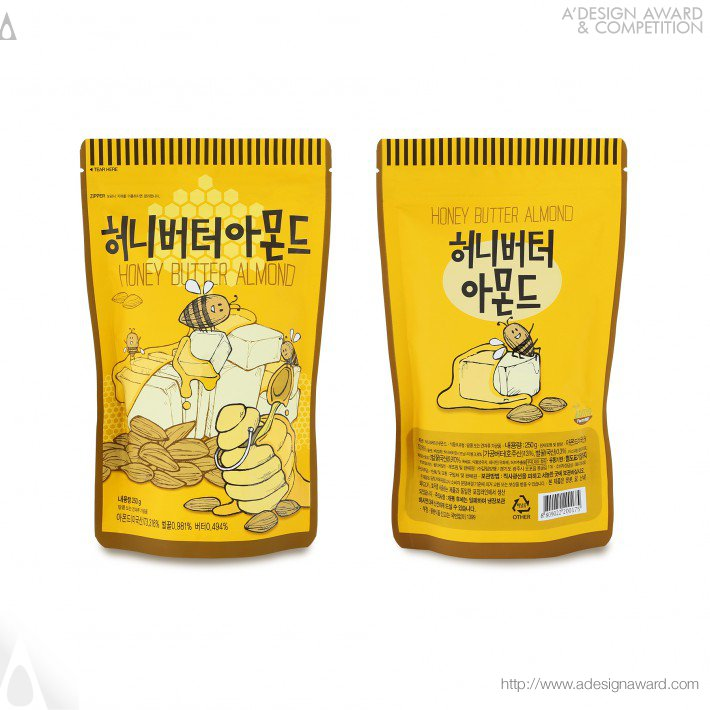 Jung Eun Yang - Nuts Snack Series Packages