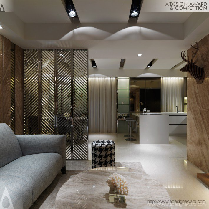 Life Travel Residential House by Sheng-Hao Sun