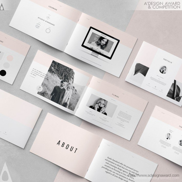 Avenue Pitch Pack (Proposal Presentation Document Design)
