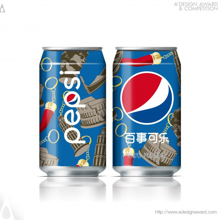 Pepsi X Italian Design Icons Can Graphics by PepsiCo Design & Innovation