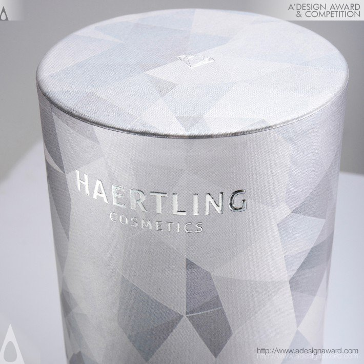 Haertling Cosmetics-Diamond Cream (High Fashion and Luxury Packaging Design)