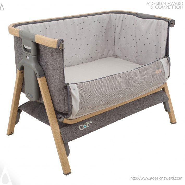 Tutti Bambini Cozee Bedside Crib (Co Sleeping Baby Cot Design)