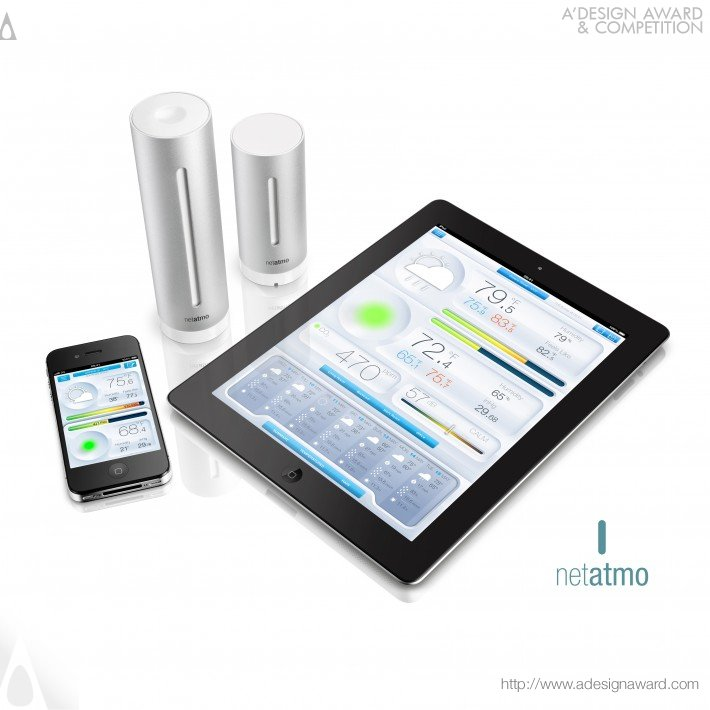 Netatmo Urban Weather Station (Weather Station Design)