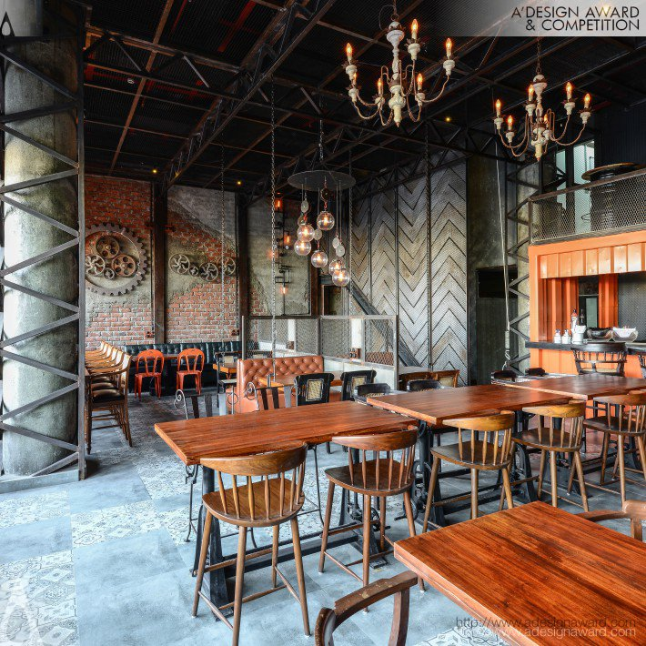 The Urban Foundry (Restaurant and Bar Design)