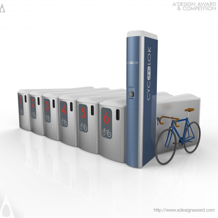 Cyclok (Bicycle Parking System Design)