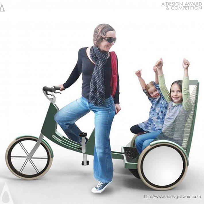 Lecomotion (Nested Urban E-Trike Design)