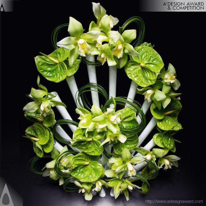 Peacock (Flower Vase Design)
