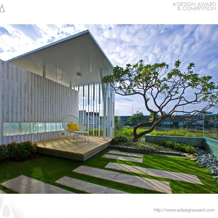 Yi-Cheng Chi - Plain White ‧ Framing ‧ Scenic View Interior Design of Residence