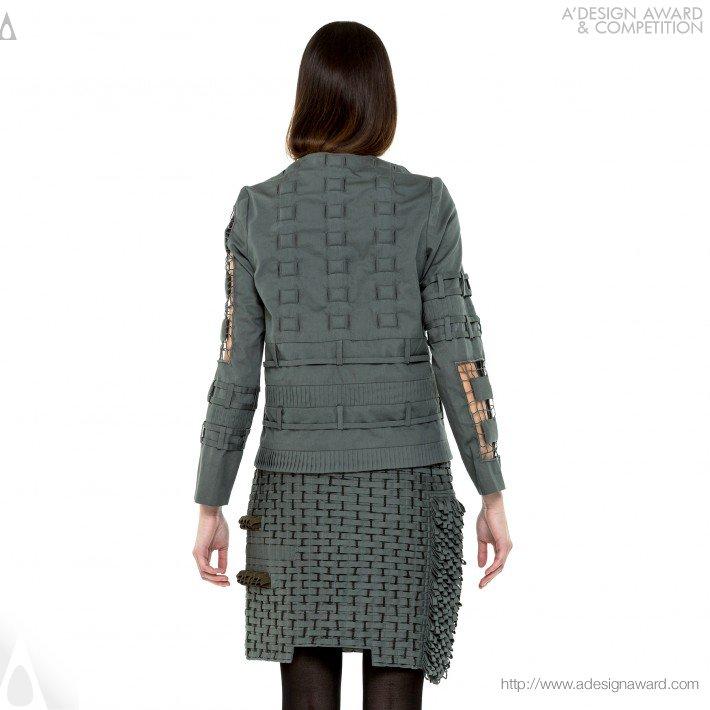"""""""transient Curves&quot (Wearable Art Design)"""