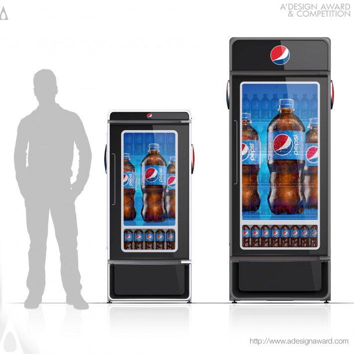 Pepsi Smart Cooler (Digital Cooler Design)