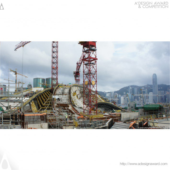 Andrew Bromberg at Aedas  - Express Rail Link West Kowloon Terminus Public Transportation