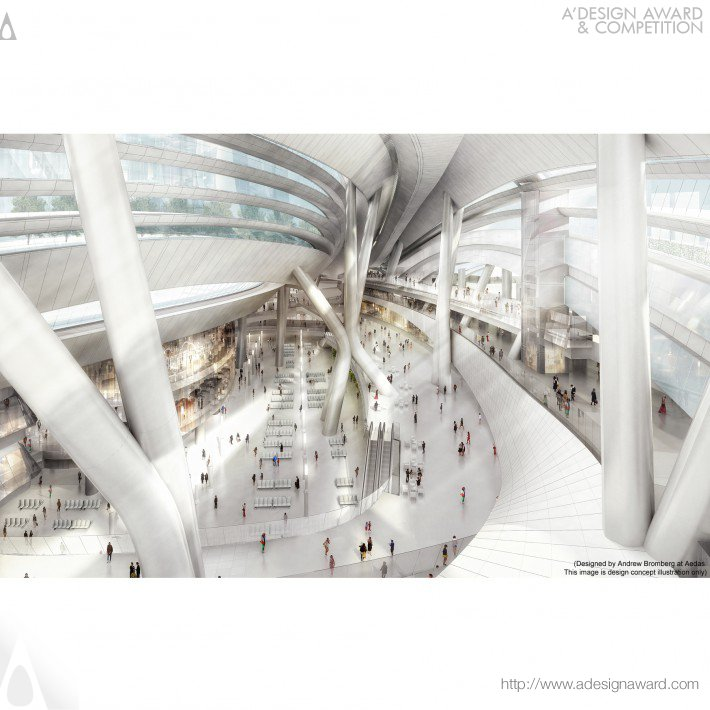 Express Rail Link West Kowloon Terminus by Andrew Bromberg at Aedas