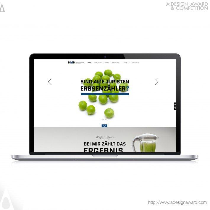 Lawyer Martin-Hayner (Website Design Design)