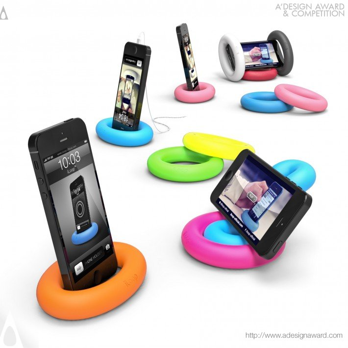 Iloop (Smartphone Holder/Stand Design)