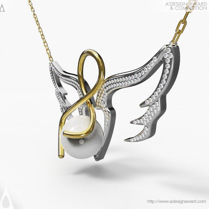 Angel Named Mother (Necklace Design)