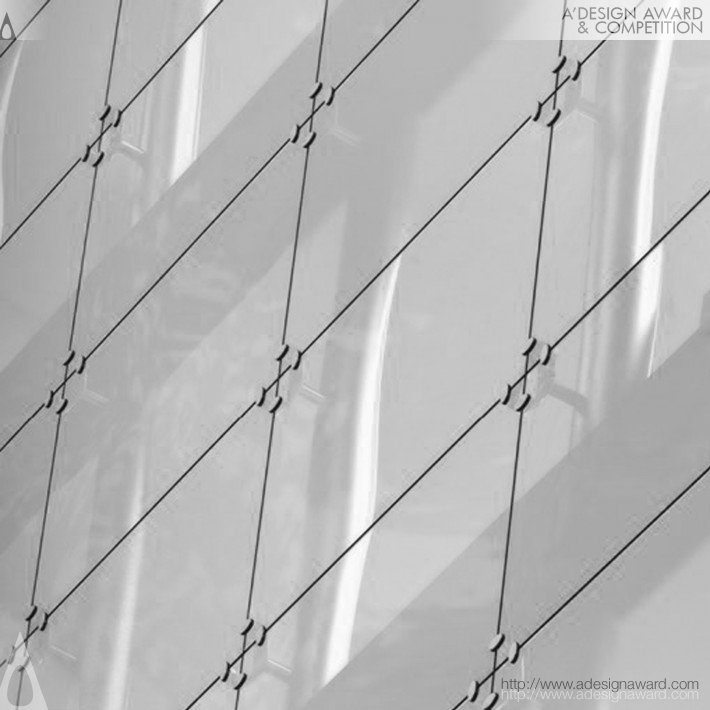 Cruise Spiderglass (Stainless Steel Continuous Facade System Design)