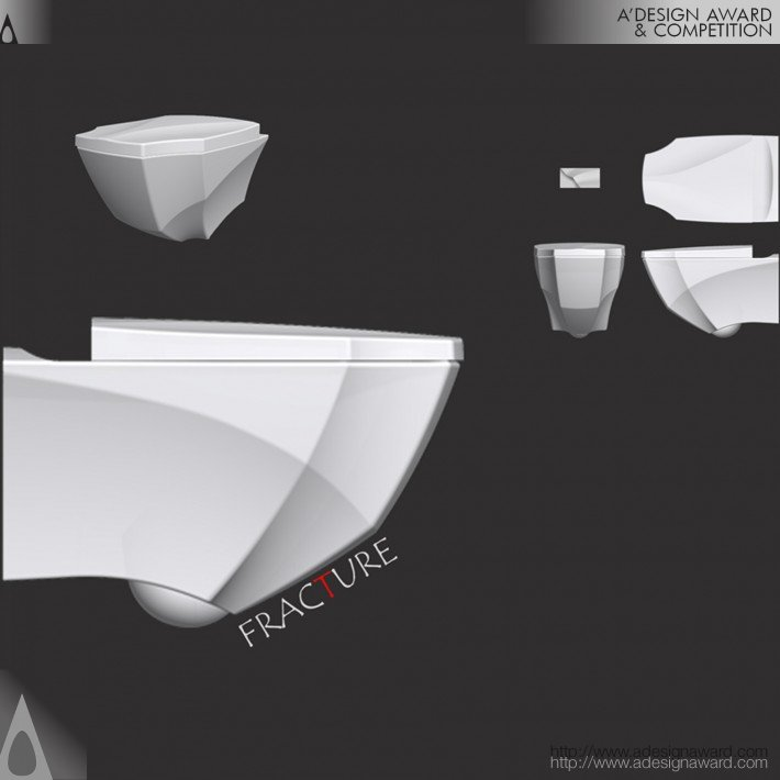Fracture (Bathroom Set Design)