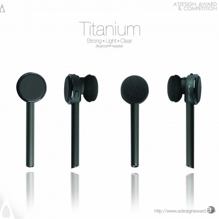 Bluetrek Titanium + (Bluetooth Headset Design)