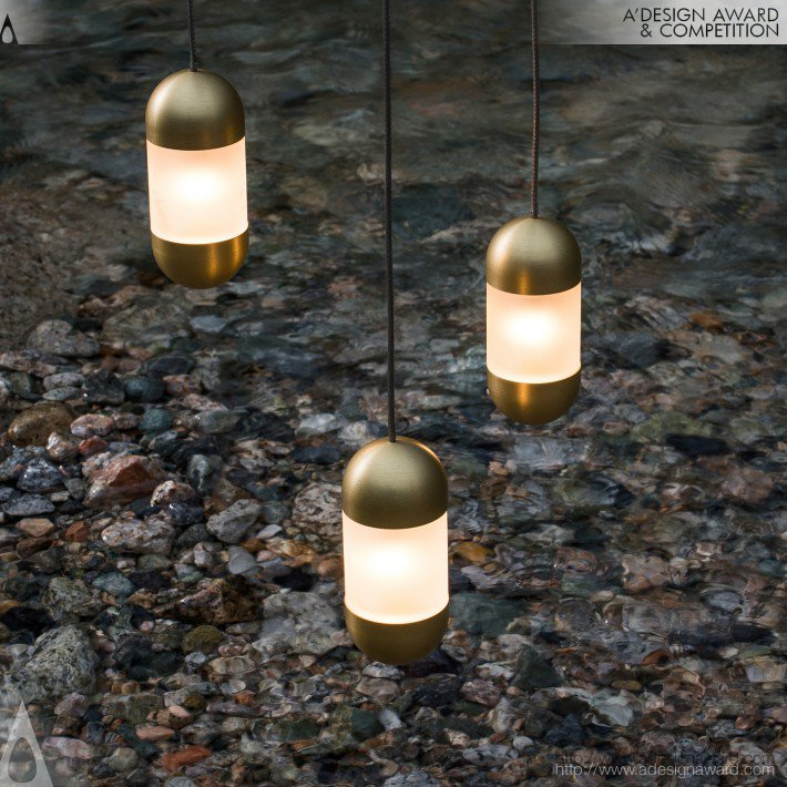Pendant Lamp by Maurice L. Dery