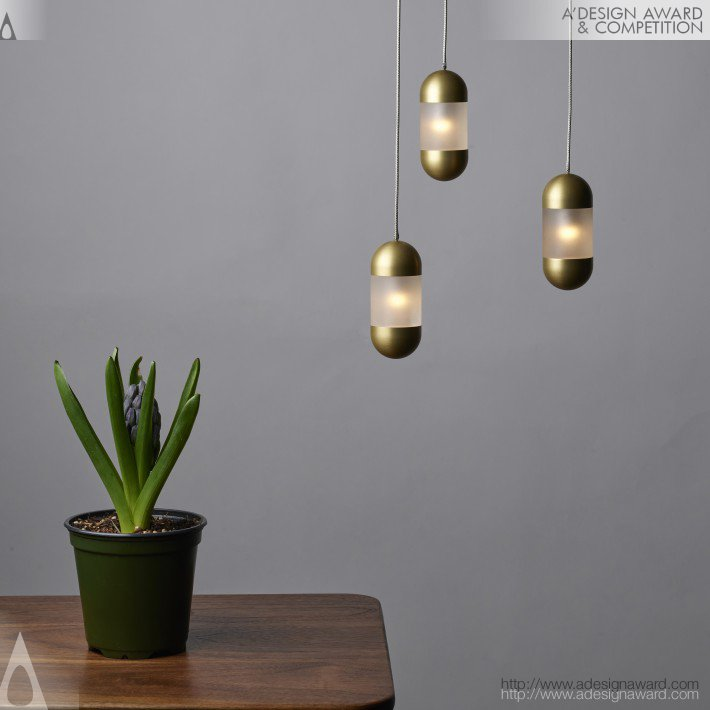 Olo Pendant Lamp by Maurice L. Dery